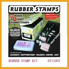 Rubber Stamp Kit 1