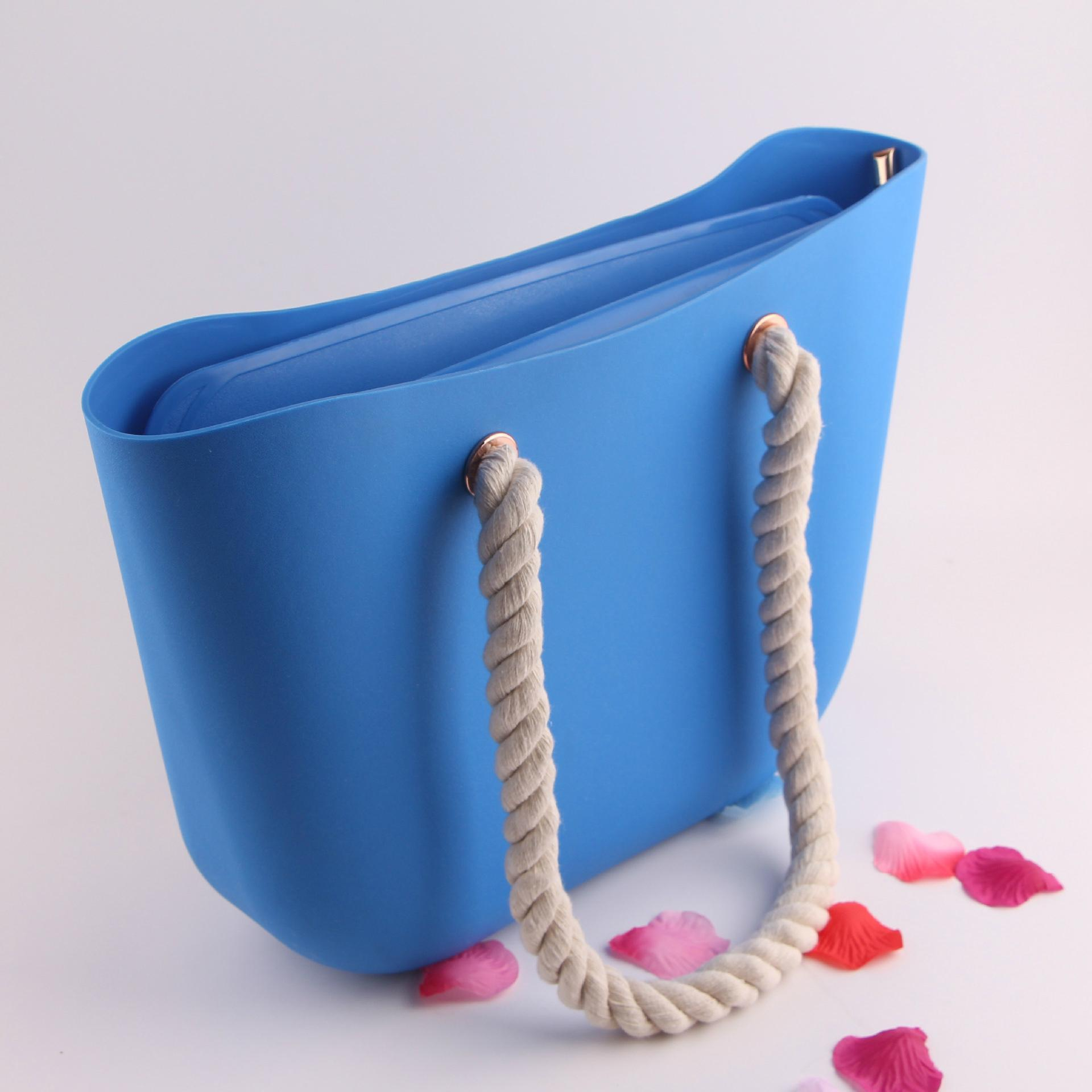 Borse Bag In Silicone : Silicone beach bags tote bag for ladies