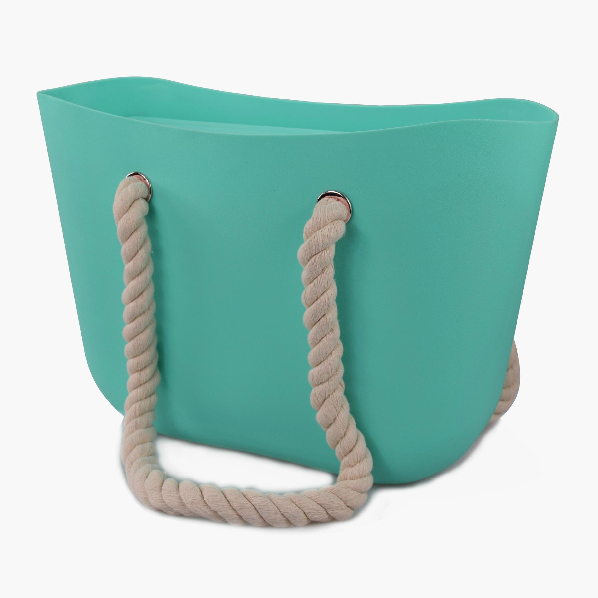 Silicone Beach Bags Silicone Tote Bag For Ladies Silicone