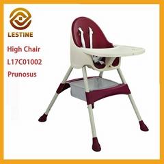 Lestine 2017  TableFit High Chair  2 in i Convertible High Chair