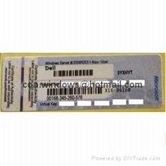 OEM Dell Windows Server 2008 Standard R2 COA Sticker(5 CALs)