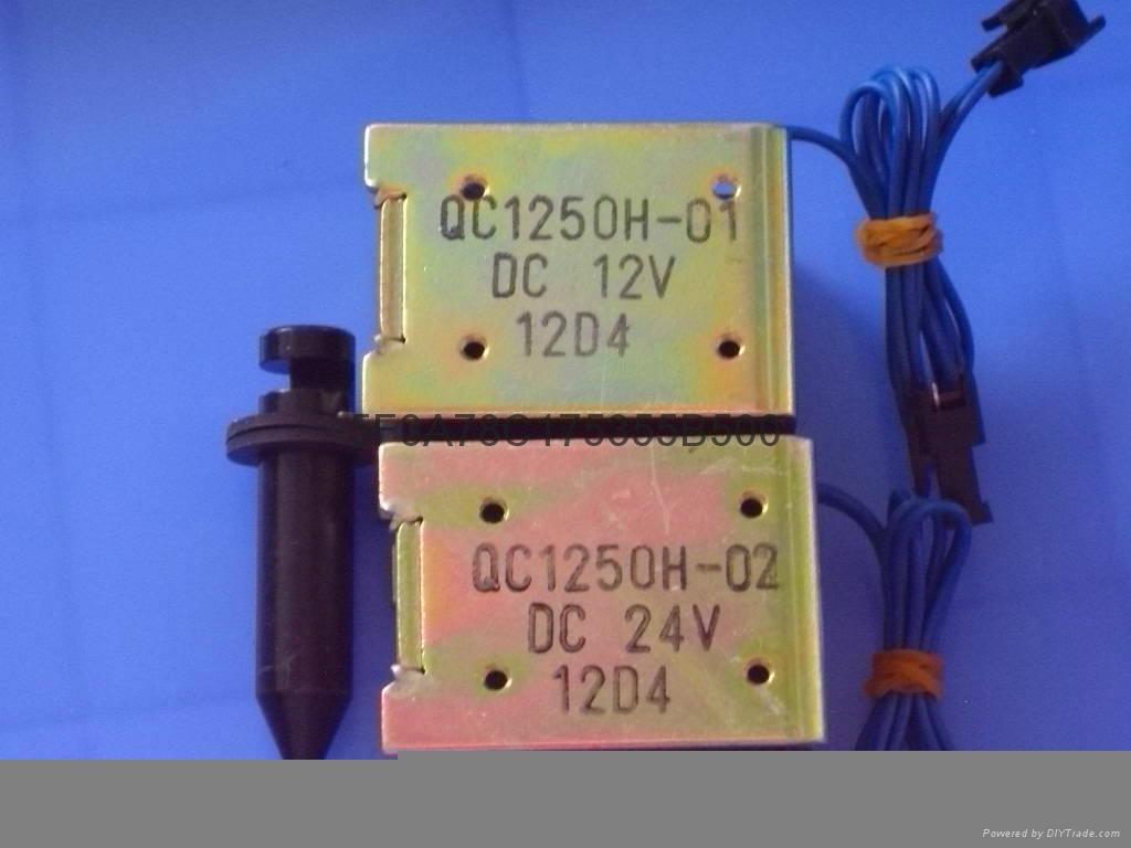 電腦裁線機用電磁鐵QC1250 DC12V   DC24V DC36V 2