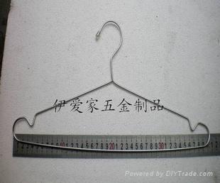 不鏽鋼實心衣架 2