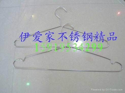 不鏽鋼實心衣架 5