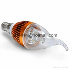 5W Dimmable LED Candle Light Bulbs High Efficiency Chandelier LED Lighting