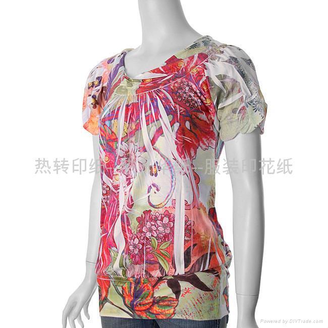 女衫印花纸 1