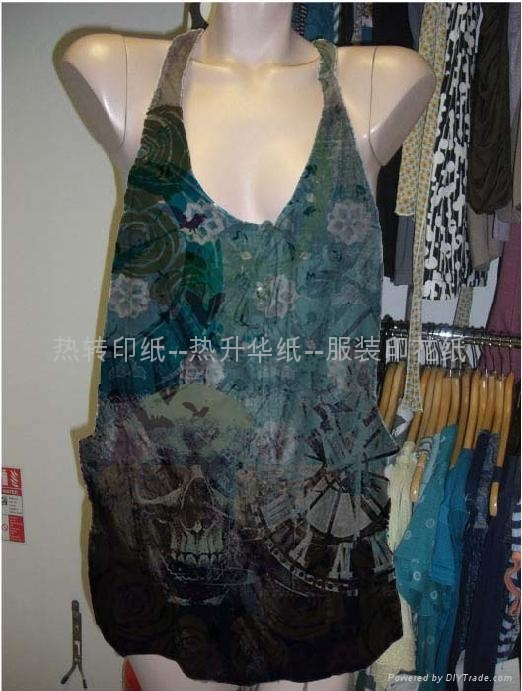 heat transfer paper for glasses cloth