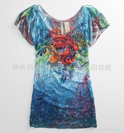 Heat Sublimation  Transfer paper 2