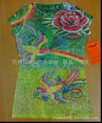 heat transfer paper for bag