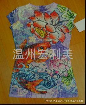 化纖面料印花紙 1