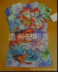 化纤面料印花纸