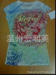 滌棉衣服印花紙
