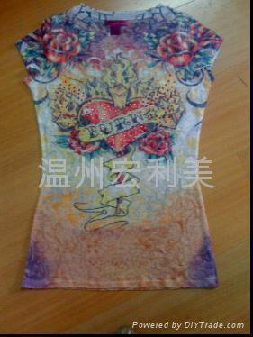 涤棉衣服印花纸 2