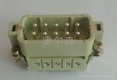 HA系列芯体插芯产品重载连接器10针