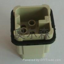 HD系列芯体8芯重载连接器