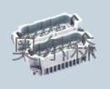 HD系列芯体80芯航空插座