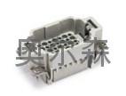 HDD系列芯体24芯航空插座