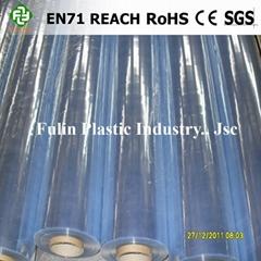 PVC normal clear sheet film
