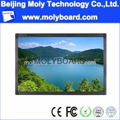 LED touch screen monitor with PC and TV