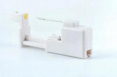 Disposable Sterile Safe Body Piercing Gun Snakemolt Body Piercing Tool Cannula