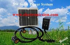 100W太阳能小型发电系统