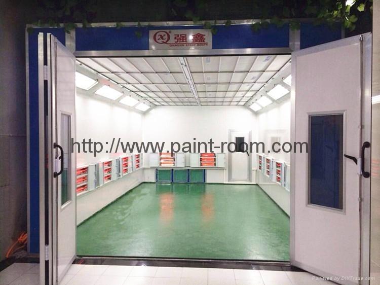 Car Spray Paint Booth 2