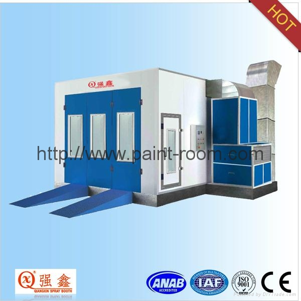 QX1000 Infrared Furnace Car Paint Booth 1