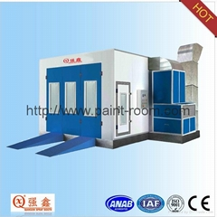 QX1000 Infrared Furnace Car Paint Booth