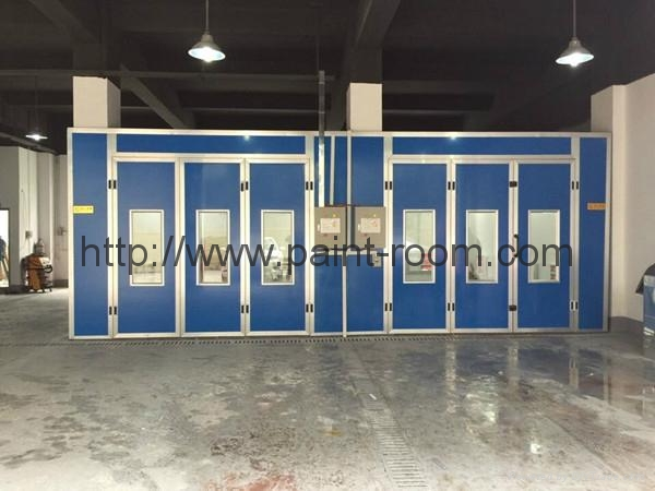 QX1000 Infrared Furnace Car Paint Booth 2