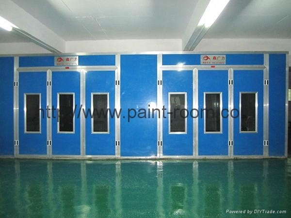 QX1000 Infrared Furnace Car Paint Booth 3