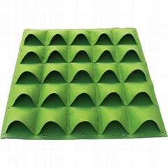 园艺绿化种植墙毛毡袋