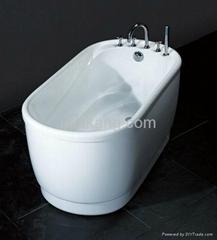 Colorfully Small Bathtub
