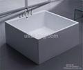 Square One-piece Bathtub