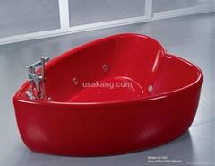 Heart Shape Bathtub