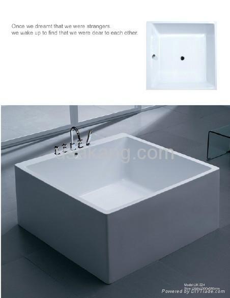 square one-piece bathtub - china - manufacturer - product catalog -