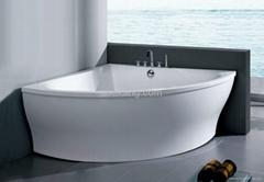Corner Apron Bathtub