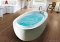 Luxury Massage Whirlpool Bathtub