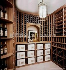 实木酒架-葡萄酒架