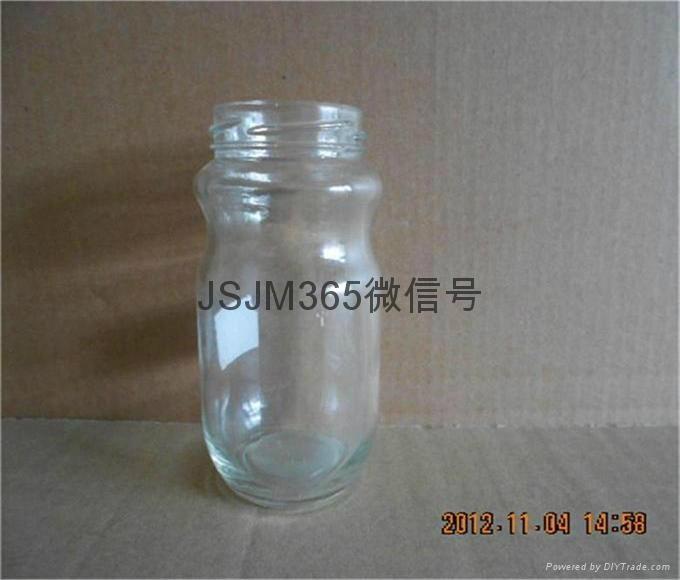 蜂蜜玻璃瓶高白料 1