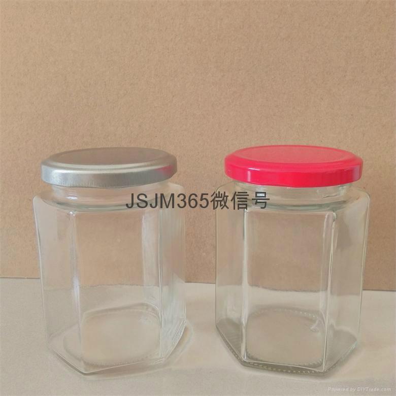 蜂蜜玻璃瓶高白料 2