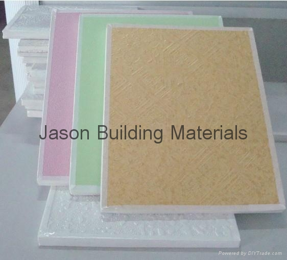 PVC LAMINATED GYPSUM BOARD 1