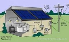 太阳能光伏并网微逆变系统(厂家直销)