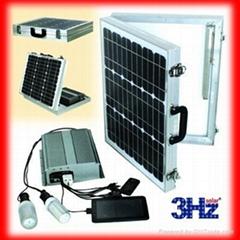 50W折疊式太陽能供電系統