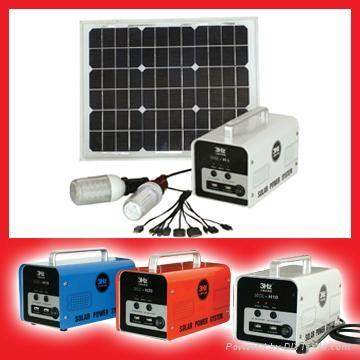 小型家用太阳能供电系统(厂家直销) 1