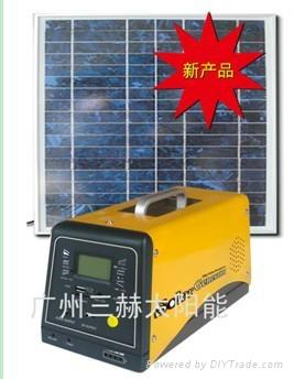 新款太阳能供电系统(含收音机、MP3功能) 1