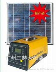 新款太陽能供電系統(含收音機、MP3功能)