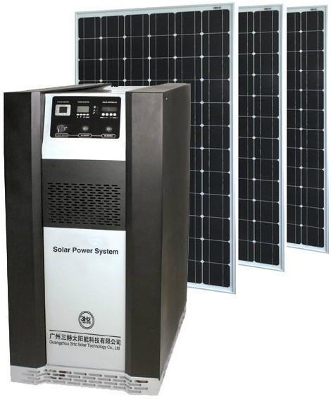 2KW太阳能发电系统 1