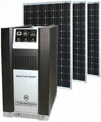 2KW太阳能发电系统