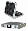 50W折叠式太阳能供电系统 2