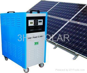 1KW太阳能供电系统 1